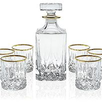 Alistate-RCR Opera Collection 7-Piece Whiskey Set