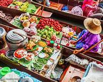Alistate-Floating Market & River Kwai Tour